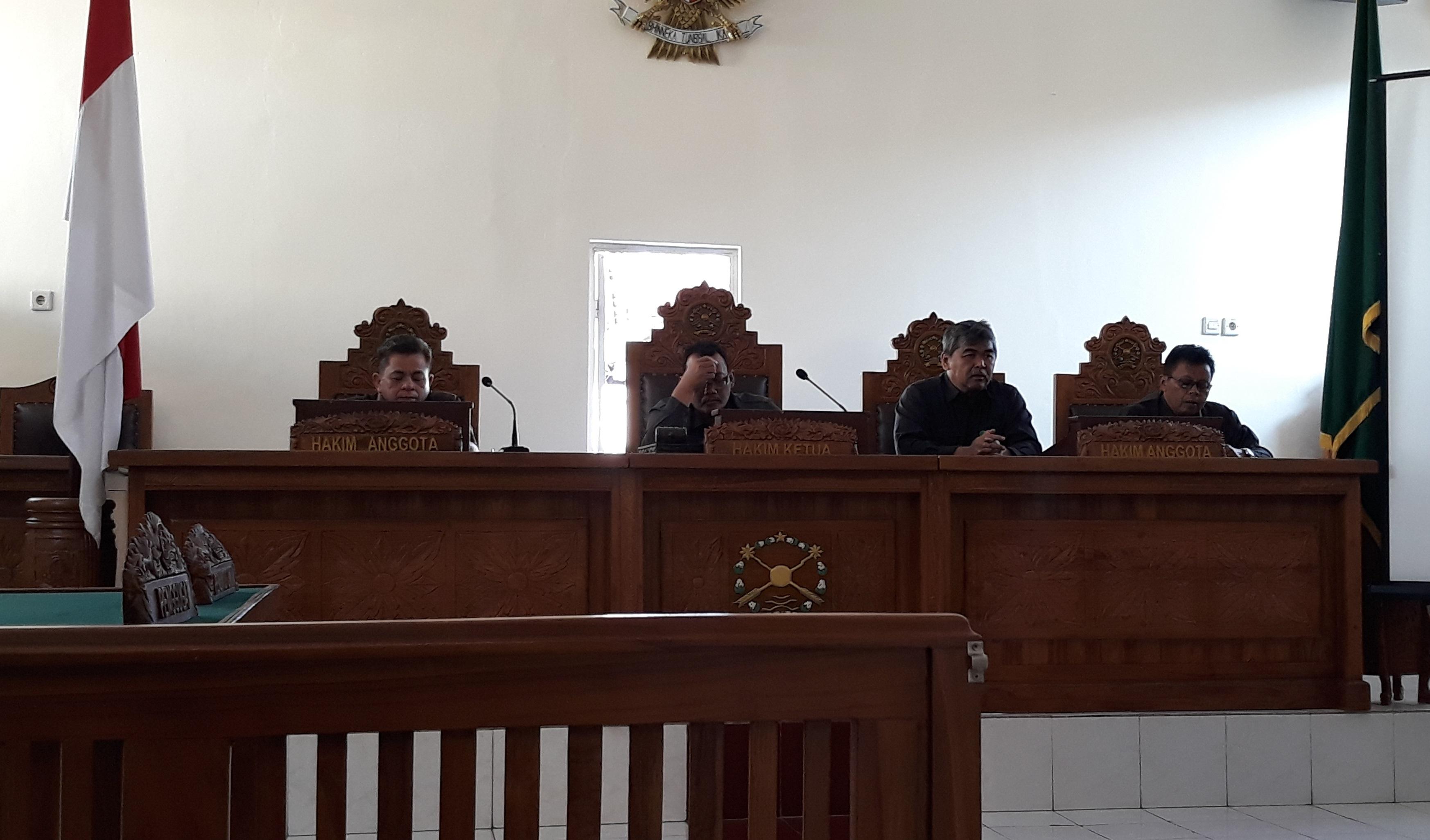 Rapat Dinas Bulan September 2019 dan Sosialisasi E-court - SIPP
