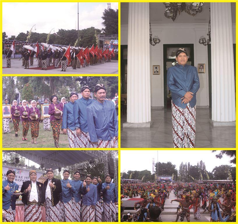 Resepsi Hari Jadi Kabupaten Wonosobo Ke-193 Tahun 2018